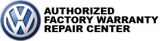 VW Authorized Factory Warranty Service